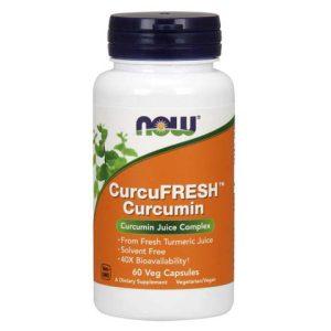 CurcuFRESH™ Curcumin Veg Capsules (60)