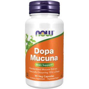 Dopa Mucuna Veg Capsules (90)