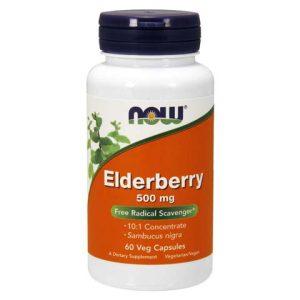 Elderberry 500 mg Veg Capsules (60)