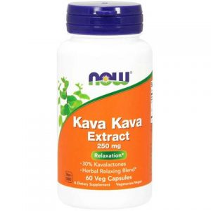Kava Kava 250 mg Veg Capsules (60)