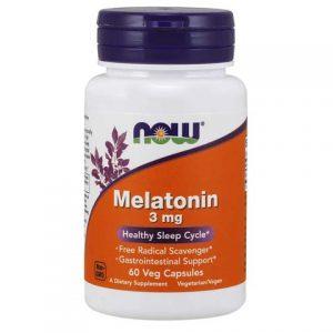 Melatonin 3 mg Veg Capsules (60)
