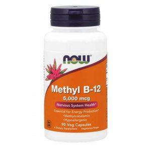 Methyl B-12 5000 mcg Veg Capsules (90)
