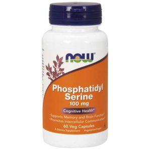 Phosphatidyl Serine 100 mg Veg Capsules (60)