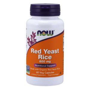 Red Yeast Rice 600 mg Veg Capsules (60)