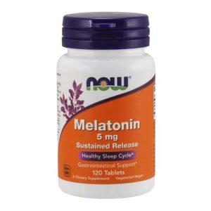 Melatonin 5 mg Sustained Release Tablets (120)